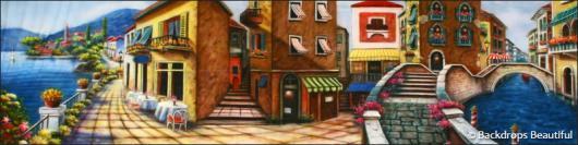 Backdrops: Italian Street Scene 2