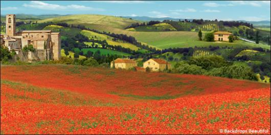 Backdrops: Tuscany 1A