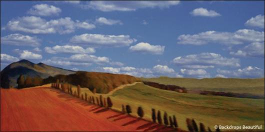 Backdrops: Tuscany 6