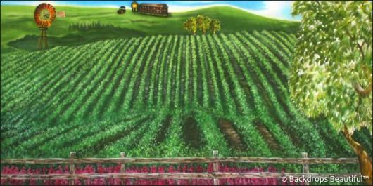 Backdrops: Tuscany 7B