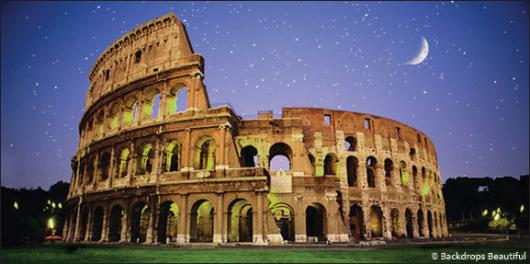 Backdrops: Coliseum