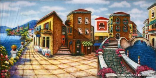Backdrops: Italian Street Scene 6