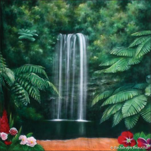 Backdrops: Forest Waterfall 2