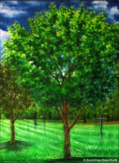 Backdrops: Tree Leg 16A
