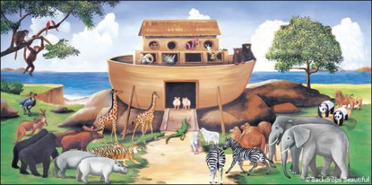 Backdrops: Noahs Ark