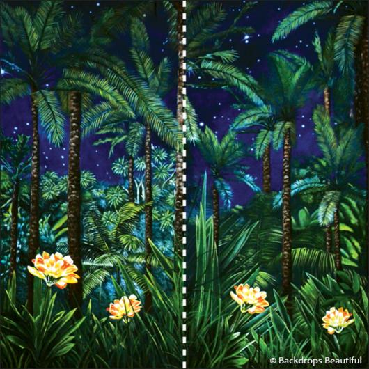 Backdrops: Jungle Leg 2 Panel