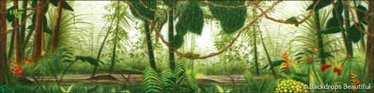 Backdrops: Forest 2B Lizards