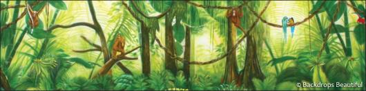 Backdrops: Forest 2E Monkeys