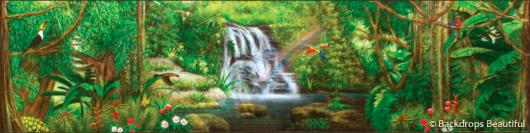 Backdrops: Forest 2F Waterfall