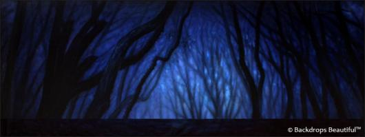 Backdrops: Dark Forest 11 Twilight