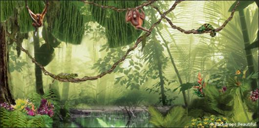 Backdrops: Forest 1B Lake Fauna