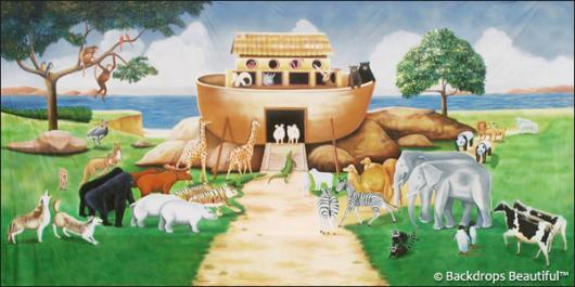Backdrops: Noahs Ark 2