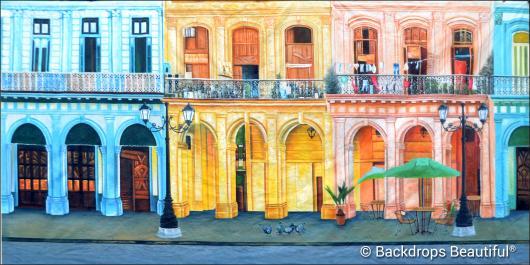 Backdrops: Havana Streets 3