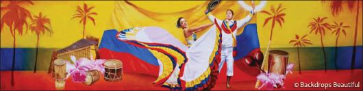 Backdrops: Latin Festival 1