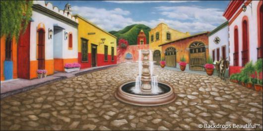 Backdrops: Mexican Village 1
