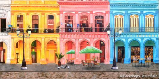 Backdrops: Havana Streets 1