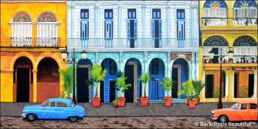 Backdrops: Havana Streets 2