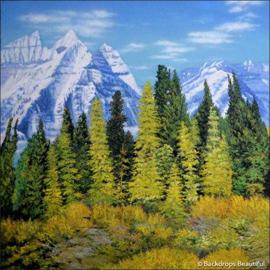 Backdrops: Aspen Mountains 1