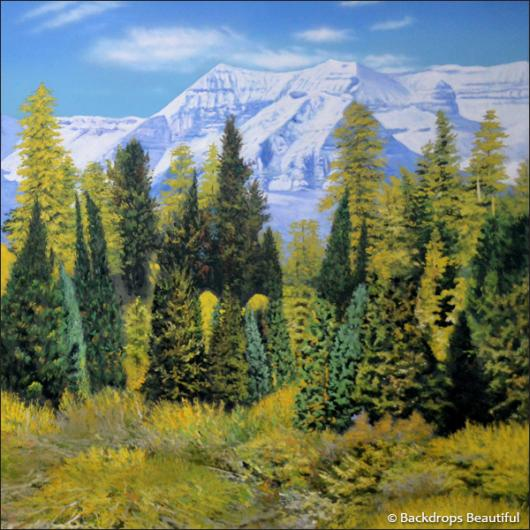 Backdrops: Aspen Mountains 1B