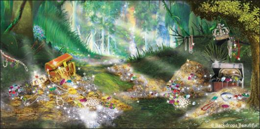 Backdrops: Treasure Forest 1