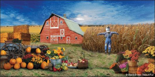 Backdrops: Fall Harvest 3