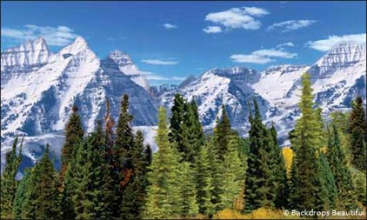 Backdrops: Aspen Mountains 3