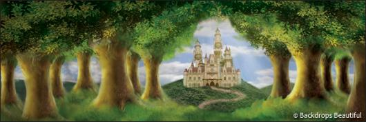 Backdrops: Enchanted Castle 3