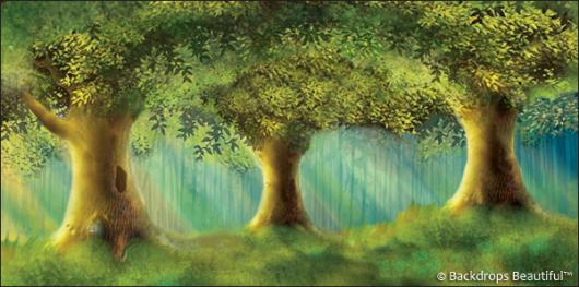 Backdrops: Enchanted Trees 1