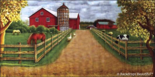 Backdrops: Farm House 2