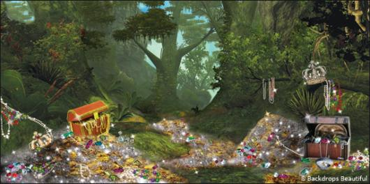 Backdrops: Treasure Forest 2