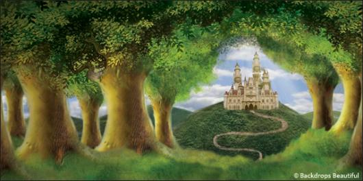 Backdrops: Enchanted Castle 1B