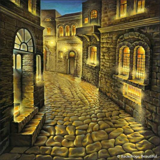 Backdrops: Old City 3
