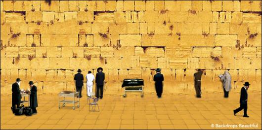Backdrops: Jerusalem Wall 2b