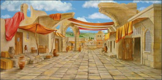 Backdrops: Ancient City 2