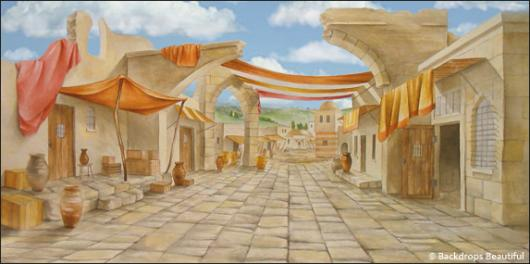 Backdrops: Ancient City 4