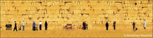 Backdrops: Jerusalem Wall 3