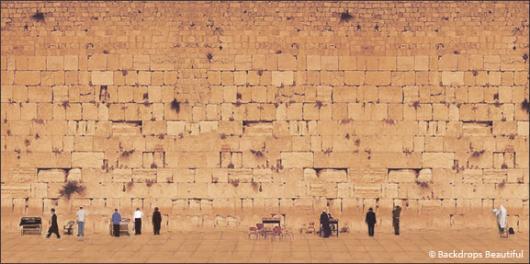 Backdrops: Jerusalem Wall 1