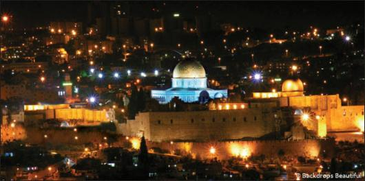 Backdrops: Jerusalem City 1