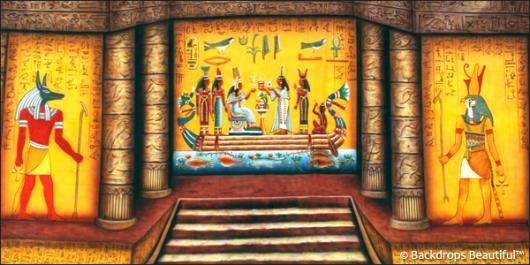 Backdrops: Egyptian Tomb 1