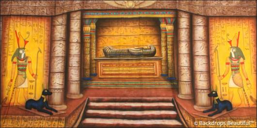 Backdrops: Egyptian Tomb 3
