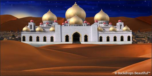 Backdrops: Arabian Palace 1