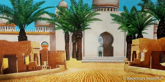 Backdrops: Arabian Courtyard 1