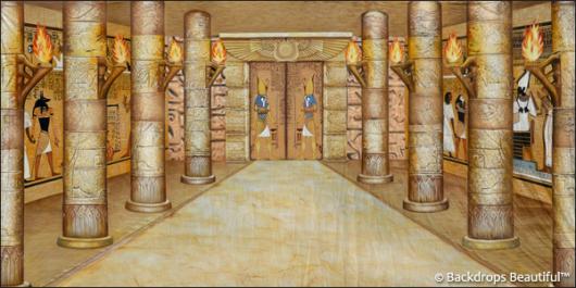 Backdrops: Egyptian Tomb 4 Columns