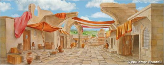 Backdrops: Ancient City 3