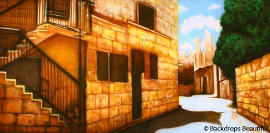 Backdrops: Bethlehem Street 2