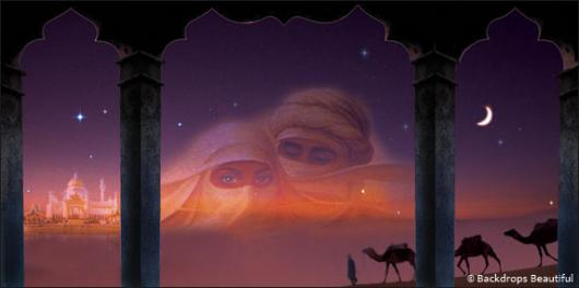 Backdrops: Arabian Night 2