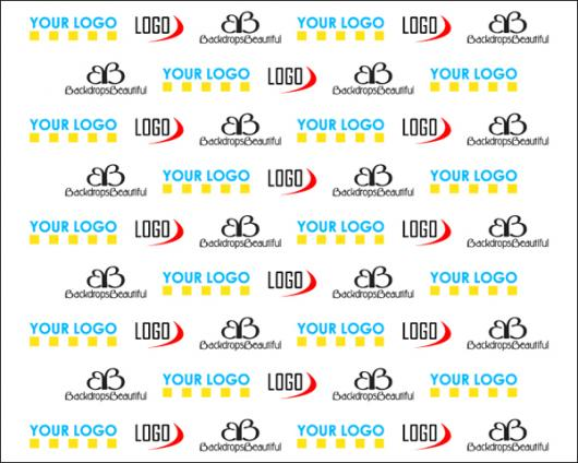Backdrops: Step and Repeat Digital