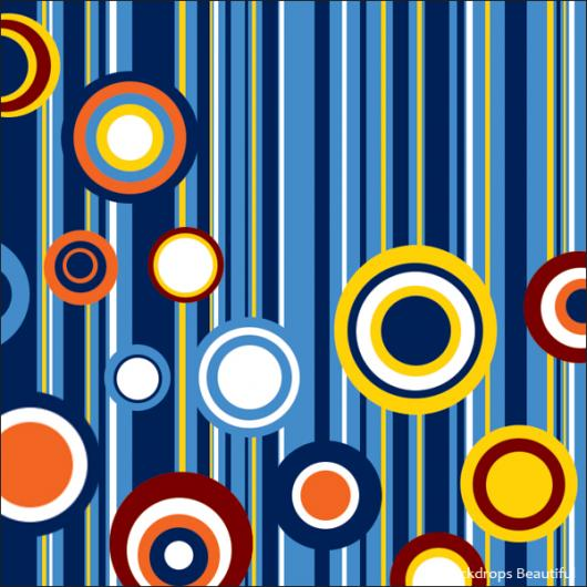 Backdrops: Circles and Stripes