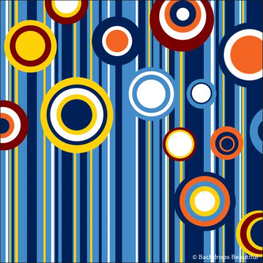 Backdrops: Circles and Stripes (Alt View2)