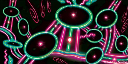 Backdrops: Neon Lights  2